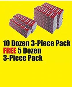 3 Piece Pack Dozen