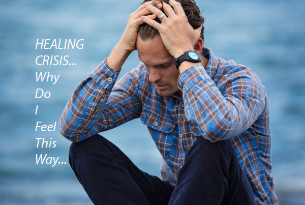 Healing crisis.