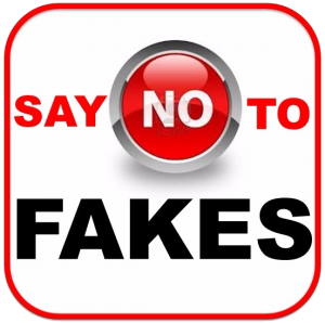 Say No to Fakes
