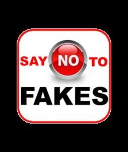 Say No to Fakes